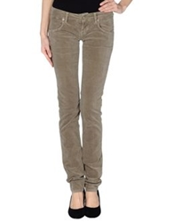 Two Women In The World Casual Pants Dark Brown