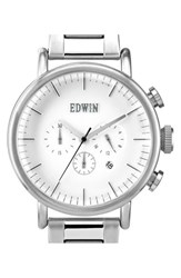 Men's Edwin Chronograph Bracelet Watch 46Mm