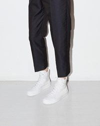 Jil Sander Eleonor High Top Sneaker White