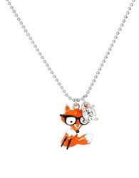 Betsey Johnson Betsey Mini's Fox Pendant