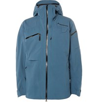 Peak Performance Heli Gore Tex Hooded Ski Jacket Blue