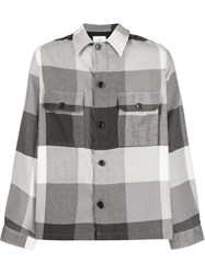 Paul Smith Ps Relaxed Fit Checked Shirt 60