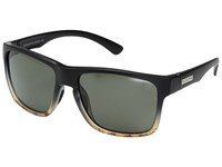 Suncloud Polarized Optics Rambler Black Tortoise Fade Gray Polycarbonate Lens Sport Sunglasses
