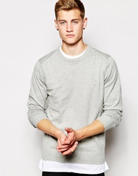Bench Crew Neck Jumper Grey
