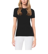 Michael Kors Cashmere T Shirt Black
