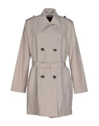 Armani Jeans Coats And Jackets Full Length Jackets Women Beige