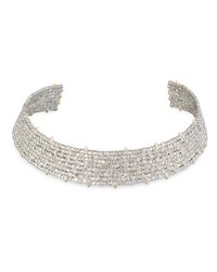 Alexis Bittar Coveteur Series 2 Crystal Choker Necklace Gold