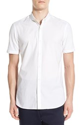 Men's French Connection 'Sports' Trim Fit Short Sleeve Sport Shirt
