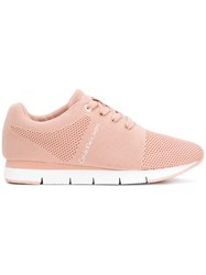 Calvin Klein Jeans Tada Mesh Sneakers Pink And Purple