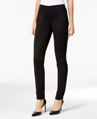 Styleandco. Style Co. Petite Pull On Seamed Skinny Pants Only At Macy's Deep Black