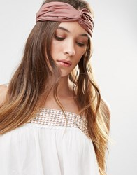 Pieces Bilal Hairband Rose Pink