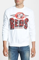 Men's Mitchell And Ness 'Cincinnati Reds' Crewneck Sweatshirt