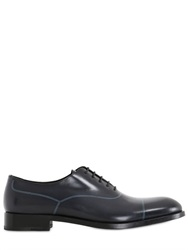 Fratelli Rossetti Hand Painted Lines Leather Oxford Shoes