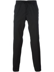 Z Zegna Drawstring Track Pants Black
