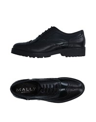 Mally Lace Up Shoes Black