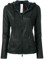 Giorgio Brato Stretch Leather Jacket Black
