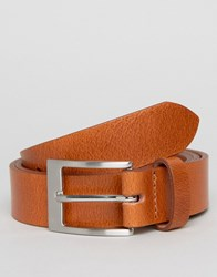 New Look Leather Belt In Tan Brown
