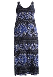 Evans Maxi Dress Multi Dark Multicoloured