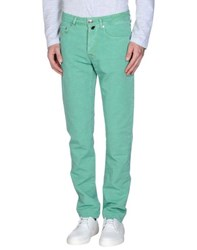 Pt05 Trousers Casual Trousers Men Green