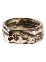 Henson Tarnished Ring Metallic
