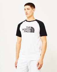 The North Face Short Sleeve Raglan Easy T Shirt White