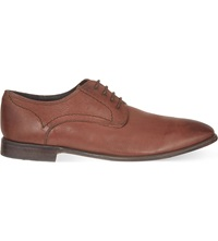 Hudson Chiba Derby Shoes Dark Brown