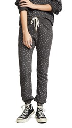 The Great Great. Warm Up Sweatpants Black Ditsy Floral