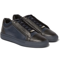 Brioni James Two Tone Leather Sneakers