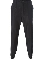Helmut Lang Tapered Trousers Black