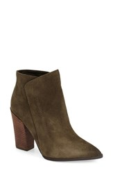 Women's Guess 'Hardey' Bootie Army Green