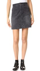 Stella Mccartney Denim Skirt Vintage Black