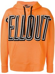 House Of Holland X Andrew Brischler Sellout Hoodie Orange