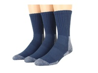 Thorlos Trail Hiking Crew 3 Pair Pack Dust Blue Women's Crew Cut Socks Shoes