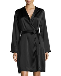 La Perla Silk Long Sleeve Short Robe