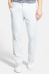 Ag Jeans 'The Lux' Tailored Straight Leg Pants Gray