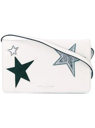 Marc Jacobs 'Star Patchwork' Wallet Crossbody Bag White