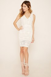 Forever 21 Crochet Lace Bodycon Dress