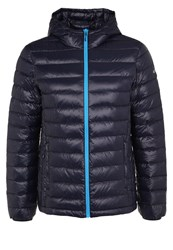 Icepeak Varuna Down Jacket Navy Red White Dark Blue