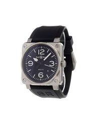 Bell And Ross 'Br 03 92' Analog Watch Stainless Steel