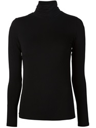Majestic Filatures Turtle Neck Sweater Black