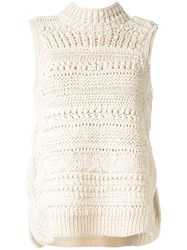 Christian Wijnants Korie Chunky Knit Sleeveless Jumper 60