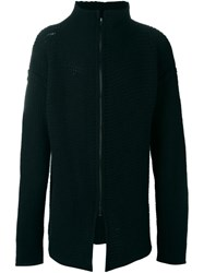 Lost And Found Rooms Zipped Cardigan Black