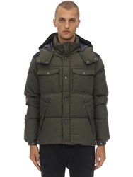 Ciesse Piumini Alaska Hooded Cotton Down Jacket Army Green