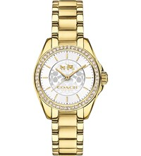 Coach 14502465 Tristan Gold Pvd Stainless Steel Watch