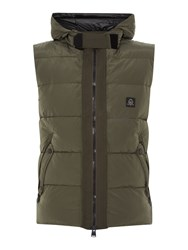 Duck And Cover Project Gilet Khaki