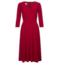 Hobbs Venise Dress Red
