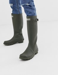 Barbour Bede Wellington Boots In Olive Green