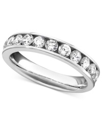 Macy's Certified Diamond Band Ring In 14K White Gold 1 Ct. T.W.