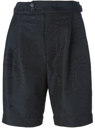 Joseph High Waist Jacquard Shorts