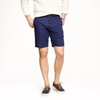 J.Crew 9' Stanton Short In Anchor Print